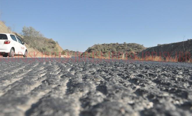 Kemire kemire asfalt kalmadı