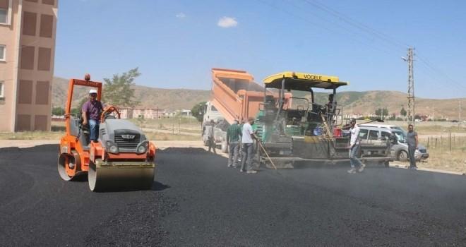 Karakum'da, hafta sonu asfalt çalışması yapılacak