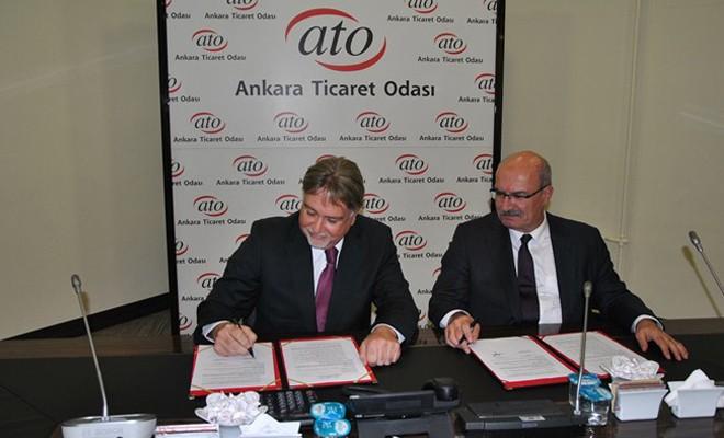 ATO ile KTSO arasında işbirliği protokolü imzalandı