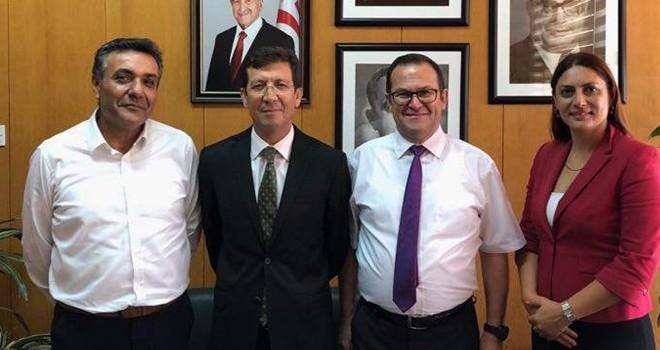 KTTO yetkilileri Merkez Bankası Başkanı Günay'ı ziyaret etti