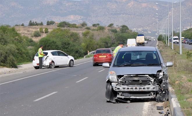 Bir haftada 61 trafik kazası, 30 yaralı