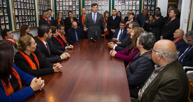 Özgürgün: Şehitlerin verdiği mücadeleyi UBP devam ettirecek