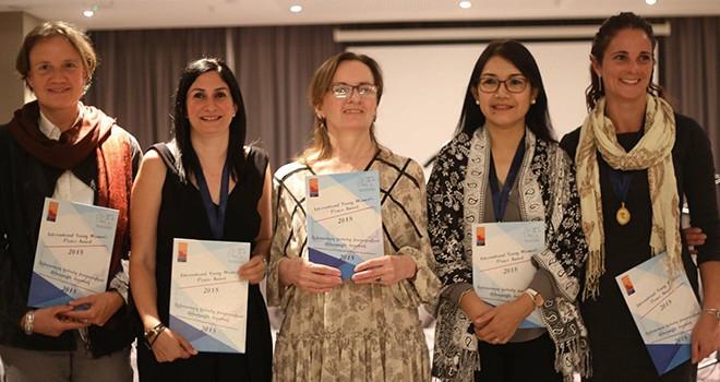 Mine Balman'a Uluslararası Genç Kadınlar Barış Ödülü