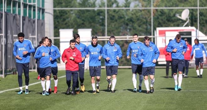 Trabzonspor'da 10 kişilik idman
