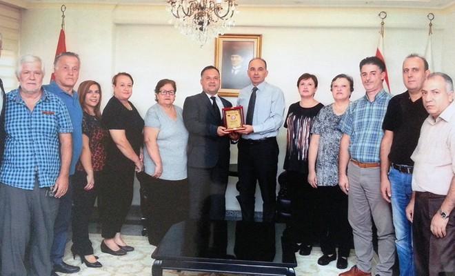 Şehit Aileleri Derneği'nden Sivil Savunma Teşkilat Başkanı Çelebi'ye ziyaret