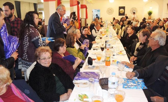 Girne Belediyesi yaşlılar için yeni yıl etkinliği düzenledi