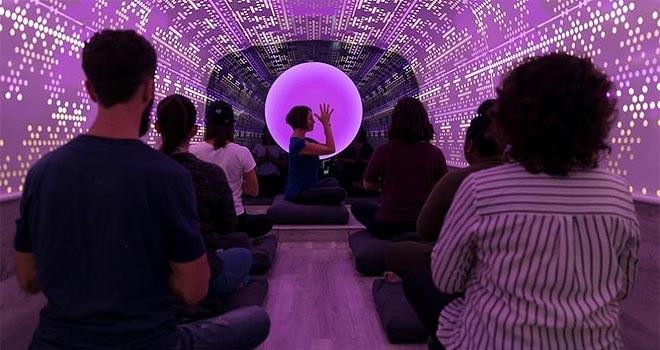 New York'ta meditasyon otobüsü büyük ilgi görüyor