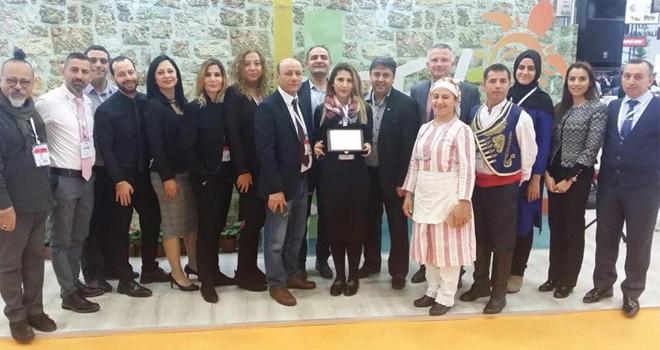 Kuzey Kıbrıs standı ikinci kez birincilik ödülü aldı