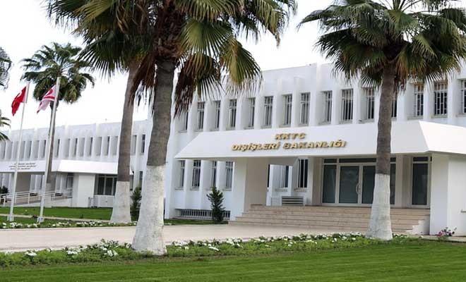Dışişleri Bakanlığı: Rum tarafının attığı adımlar kabul edilemez