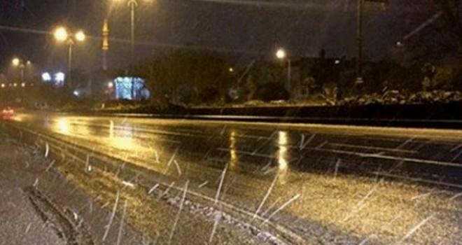 Dün ve gece en çok yağmur Akıncılar'da kaydedildi