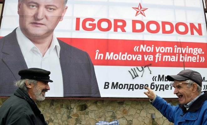 Rus yanlısı sosyalist lider Dodon, Moldova Cumhurbaşkanı oldu
