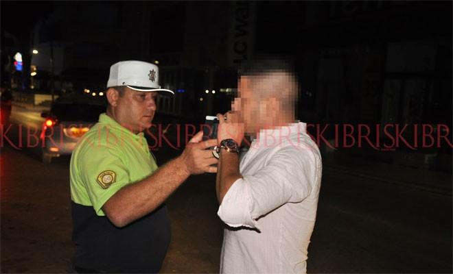 Alkollü olan '11' sürücü tespit edildi