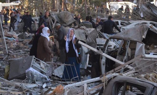 Diyarbakır'da ölü sayısı 8'e yükseldi