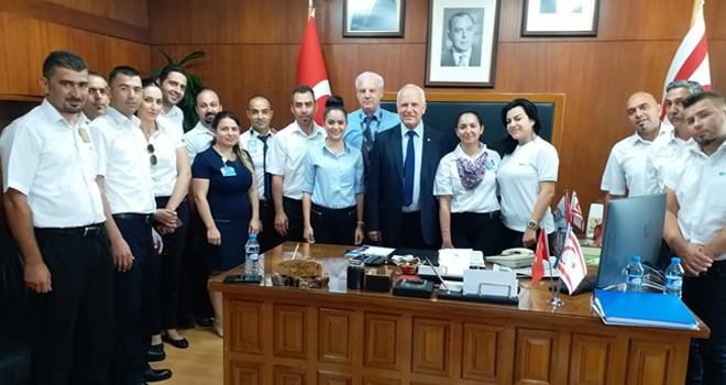 Töre CAS Genel Müdürü Çavuşoğlu'nu kabul etti