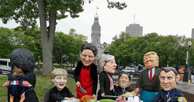 G7 zirvesi kavga gürültüyle açılıyor