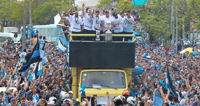 Libertadores Kupası Gremio'nun