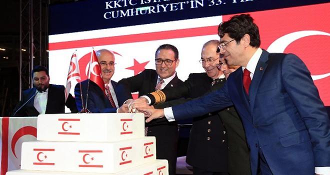 KKTC'nin 34. kuruluş yıl dönümü İstanbul'da kutlandı