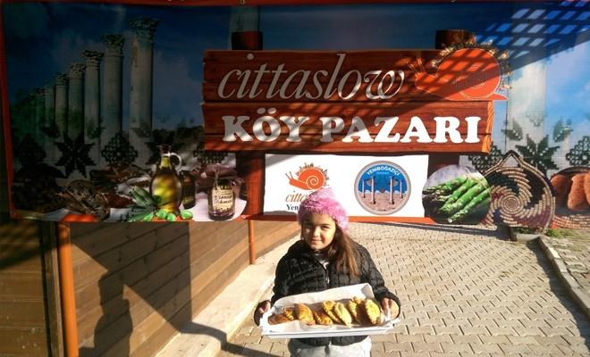 Cittaslow köy pazarı açılıyor