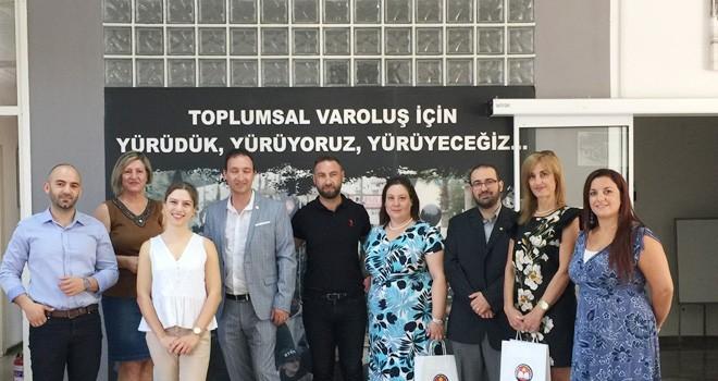 KTÖS ile Malta Öğretmen Sendikası yetkilileri Kıbrıs'ta bir araya geldi