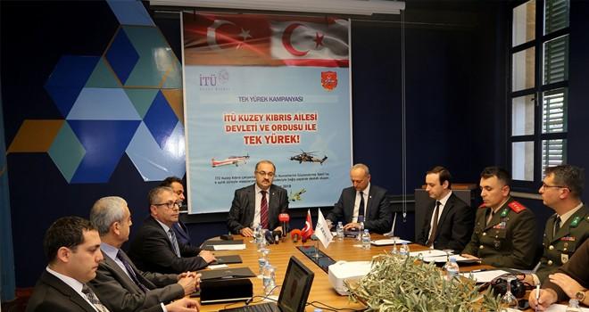İTÜ Kuzey Kıbrıs, TSK için bağış kampanyası başlattı