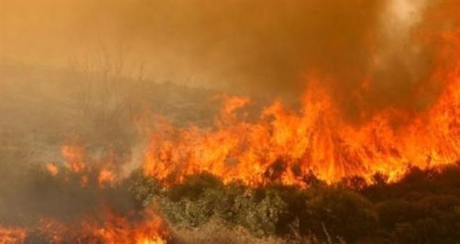 Güneyde 500 metre arayla iki yangın çıktı