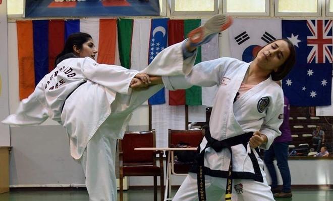 Taekwondocular durmuyor