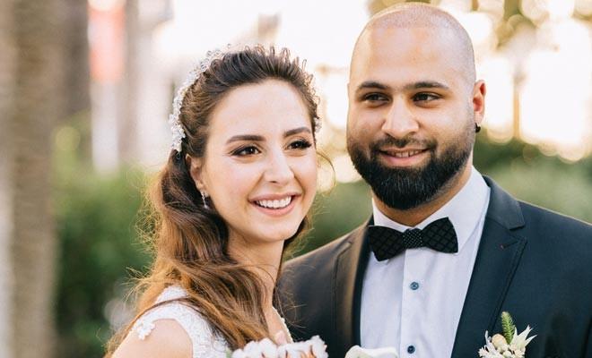 İzmir'de evlendiler