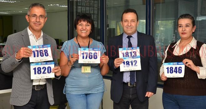 Maratona, 3 bin 407 kişi kayıt yaptırdı