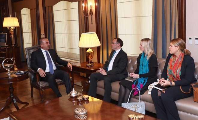 Müzakerelerdeki durum Ankara'da konuşuldu