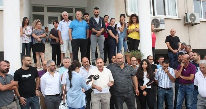 Güç-Sen, Serbest Liman'da çimento dolum tesisine karşı çıktı