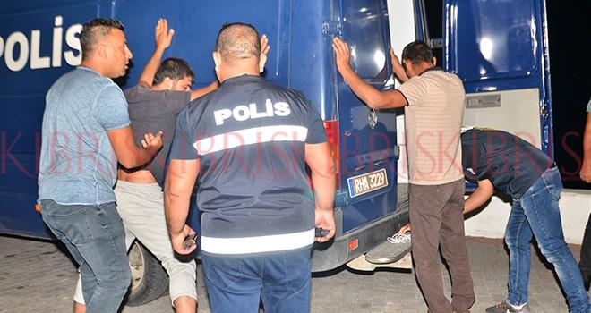 Girne'de büyük operasyon