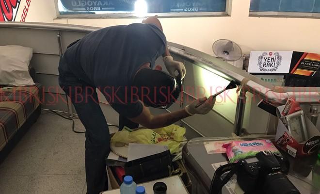 Gönyeli'de maskeli hırsızlar market soydu