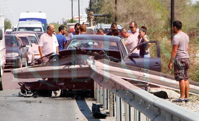 Bir haftada 76 trafik kazası, 24 yaralı