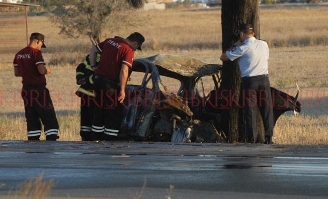 Düzova'da ölümlü kaza