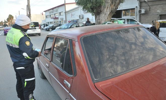 Cam filmi takılı araçlara ceza yağdı