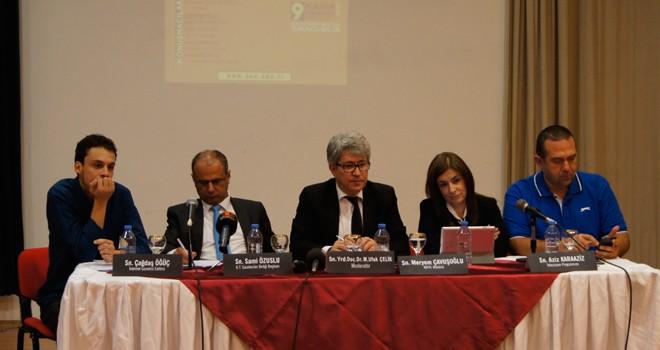 Yazılı, görsel ve yeni medya sorunları YDÜ'de tartışıldı