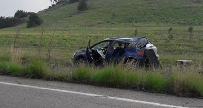Pamuklu'da kaza: 2'si çocuk 5 yaralı