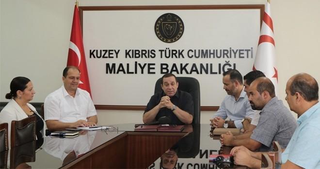 Maliye Bakanlığı ile KTAMS arasında TİS imzalandı