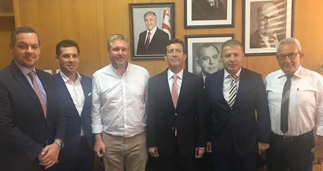 Avunduk, Merkez Bankası Başkanlığına atanan Günay'ı ziyaret etti
