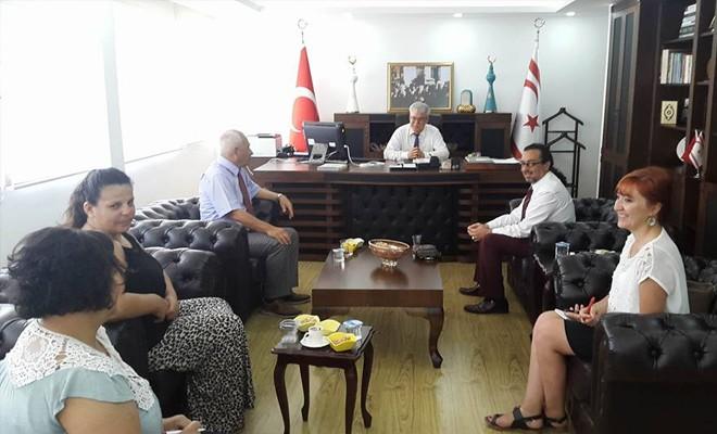 Kızılay'dan Atalay'a ziyaret