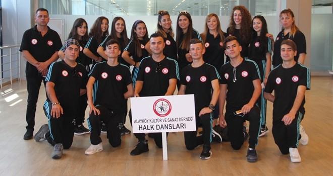 """AKSD, """"TUFAG Uluslararası Halk Dansları Festivali""""ne katıldı"""
