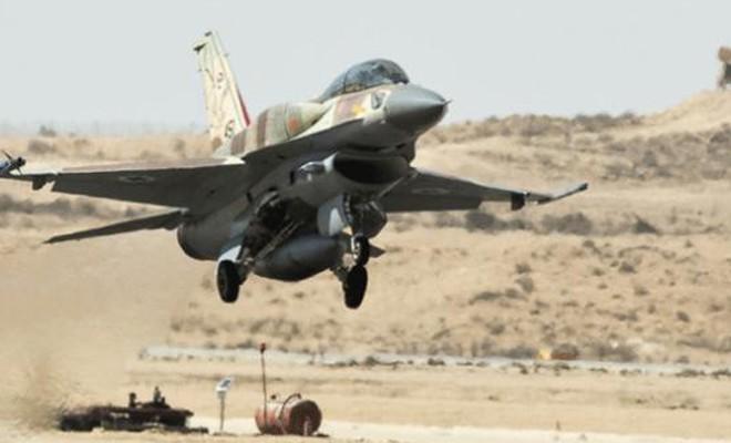 İsrail uçakları Suriye'yi vurdu