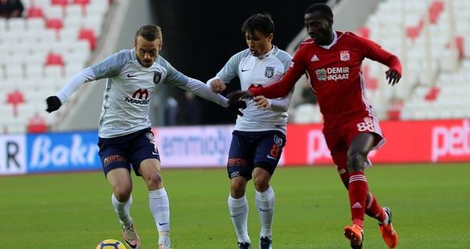 Başakşehir, Sivas'a takıldı: 1-0