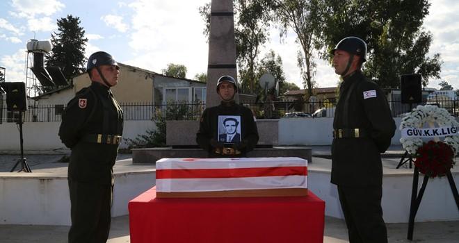 Şehit Rifat Salih 53 yıl sonra toprağa verildi