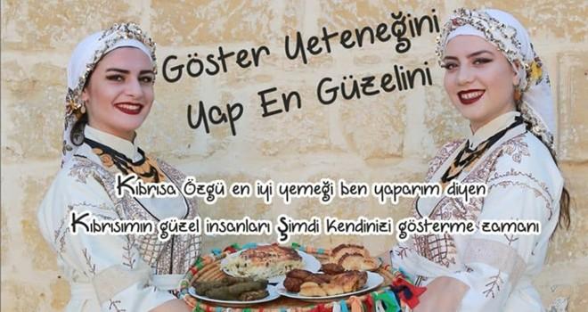 Otantik Kıbrıs Yemekleri Yarışması düzenleniyor