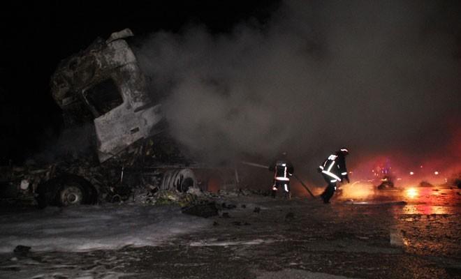 Türkiye'deki kazada ölen tır şoförünün kimliği belirlendi