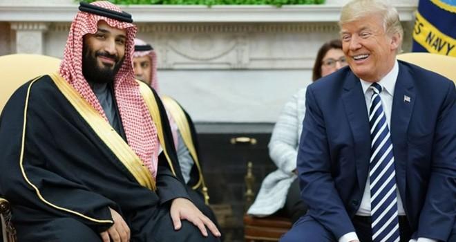 """Trump Suudi Prensi korudu,""""suçlu tüm dünya olabilir"""" dedi"""