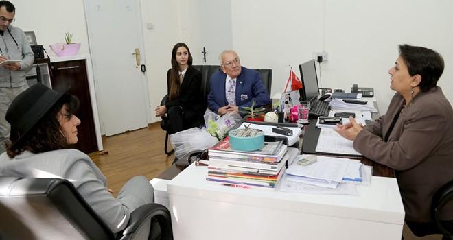 GAÜ Rektörü Prof. Dr. Kutsal Öztürk, TAK'ı ziyaret etti