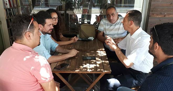 BY Gönyeli'de Mustafa Erk'i destekleyecek