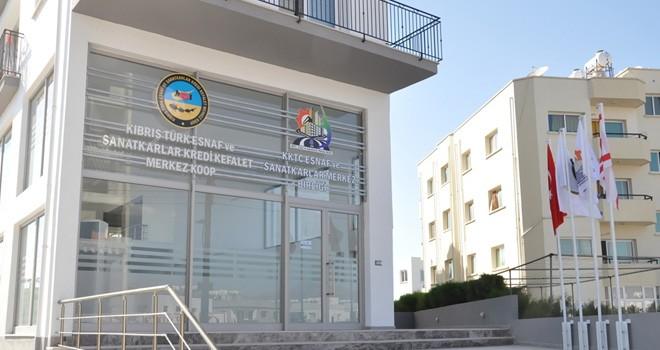 KKTC Esnaf ve Sanatkarlar Merkez Birliği ve Kooperatifi yeni binaya taşındı